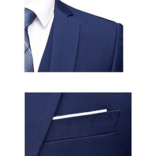 Costumes Hommes Kaki Rlrl Travail Pièces Trois De Style Coréen Slim Casual Costumes qR55FwUn1O