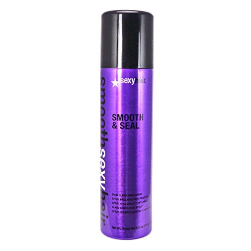 (2) Sexy Hair Smooth and Seal Anti Frizz and Shine Spray 6.0 oz