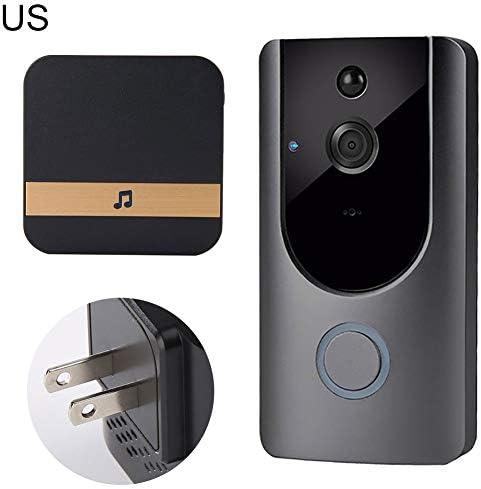 [해외]Wireless Smart Camera Intercom Home Security WiFi Remote Phone Video Doorbell / Wireless Smart Camera Intercom Home Security WiFi Remote Phone Video Doorbell