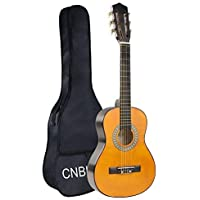 Classical Guitar for Beginner Starter Kits Acoustic Kid Guitar with Bag(30 inch 1/2 size)