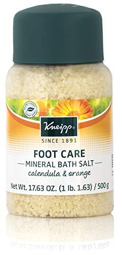 (Kneipp Healthy Feet Mineral Foot Bath Salts, Calendula & Orange, Foot Care Soak (Full Size))