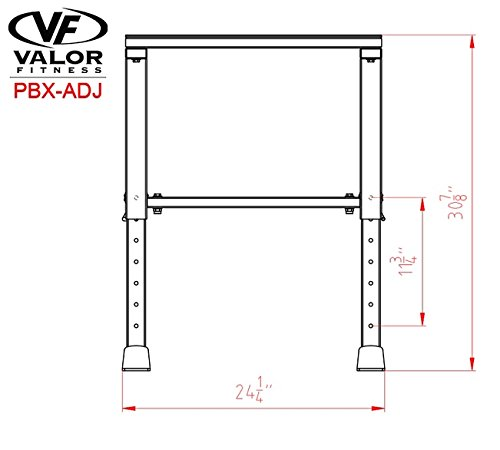 Valor Fitness Adjustable Plyobox by Valor Fitness (Image #2)