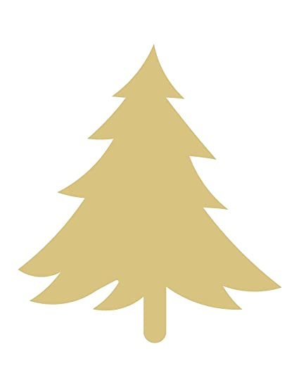 Christmas Tree Cut Out.6 Tree Cutout Unfinished Wood Christmas Tree Cut Out Holiday Door Hanger Mdf Shape Canvas Style 10