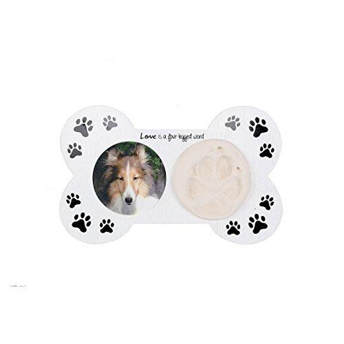Bone Dog Frame Picture - DEI Bone Shaped Paw Print Frame Kit