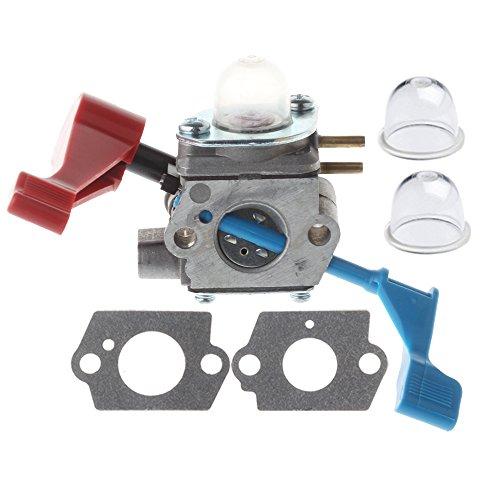 HIPA 530071629 Carburetor with Gasket Primer Bulb for Poulan FL1500 FL1500LE Leaf Blower C1U-W12A C1U-W12B