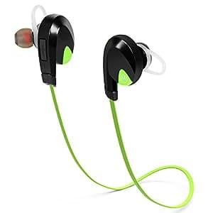 irainy bluetooth headphones earphones wireless sports in ear earbuds headset w microphone noise. Black Bedroom Furniture Sets. Home Design Ideas