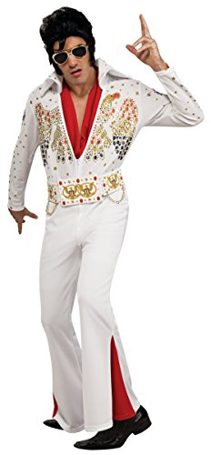 Rockabilly Costume Men (Deluxe Elvis Adult Costume - X-Large)