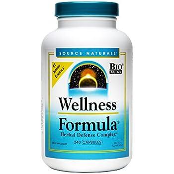 Source Naturals Wellness Formula Capsules, 240 Count