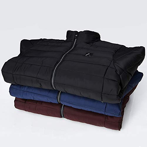 Invernale Caldo All'aperto Cappotto Velluto Rosso Trapuntata Packable Maschile Il Antivento Puffer Per Harrystore Leggero Cotone Di Incappucciati Giacca 0wAqYg