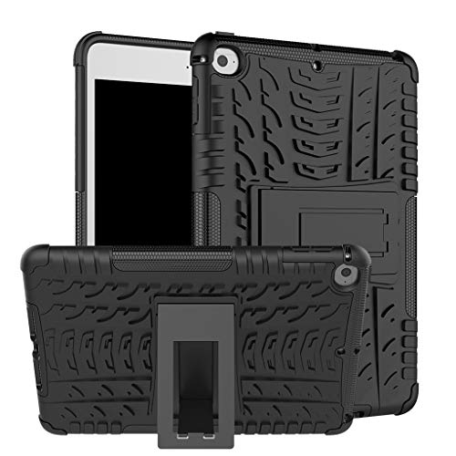 Cywulin Protective Case for Apple iPad Mini 5 2019 iPad Mini 4 2015 Hybrid Armor Shockproof Rugged Bumper with Kickstand Full Body Drop Protection Cover for iPad Mini 7.9