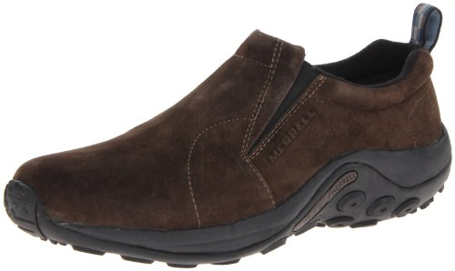 Merrell Men's Jungle Moc Slip-On Shoe,Fudge,10 M - Fudge Case