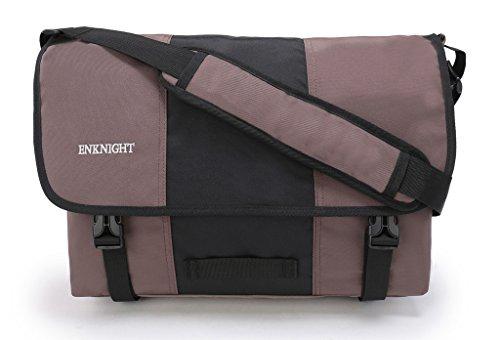 Vintage Style Men's Boys Casual Canvas Shoulder Bag Cross-body Messenger Bag Satchel Schoolbag (Coffee) - 3