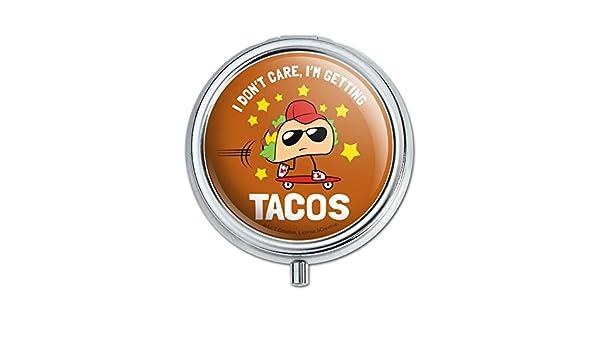 I Don/'t Care I/'m Getting Tacos Skateboard Funny Humor Baby Bib