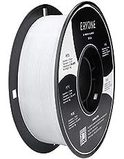 ERYONE PETG-filament 1,75 mm voor 3D-printers, 0,03 mm/spoel, wit