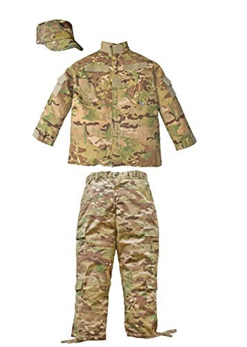 Trooper Clothing Combat 3 Piece Trooper Set w 10 Pockets, Extra Large, Multi Colore Camo, X-Large by Trooper Clothing