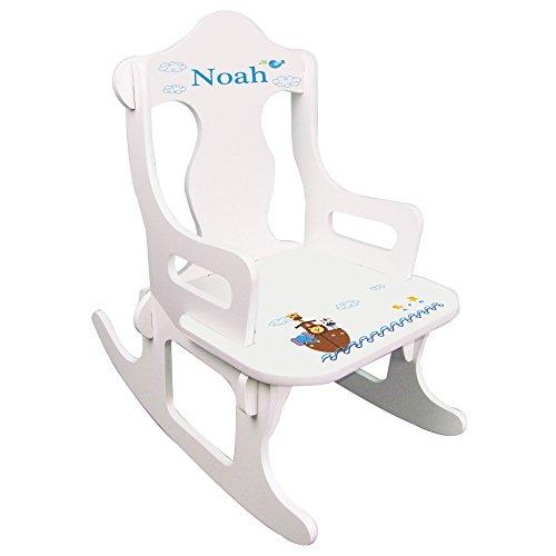 Personalized Noahs Ark Puzzle Rocker