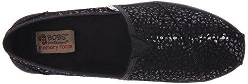Skechers Womens 34045 Black/Black Sequin 2hnQtv