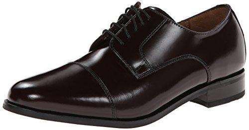 Florsheim Men's Broxton Cap Toe Lace Up Oxford Dress Shoe, Burgundy, 9 D - Oxford Up Cap Lace