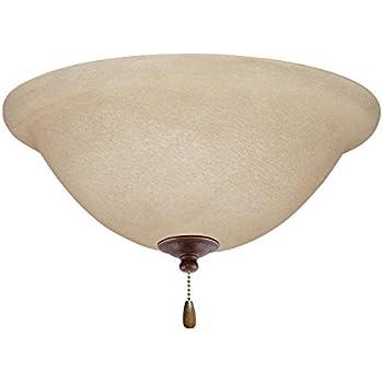 Amazon.com: Emerson ventiladores de techo lk70ledgbz ámbar ...