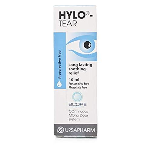 Hylo-Tear Long Lasting Eye Drops 10 - Lens 30c