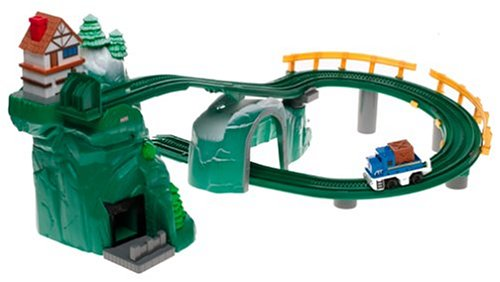 - Fisher-Price GeoTrax Rail & Road System - Mile High Mountain