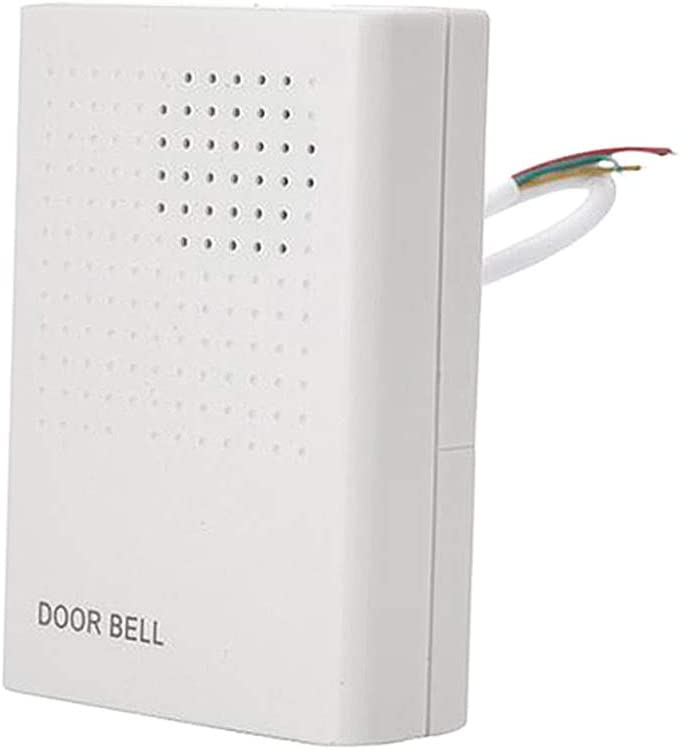 gazechimp 3W Fire-resistant Flame-retardant Wired Doorbell for Office Home System