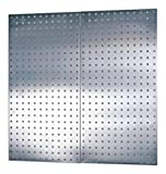 Pegboard,Silver,36 in. H x 18 in. W,PR with ebook