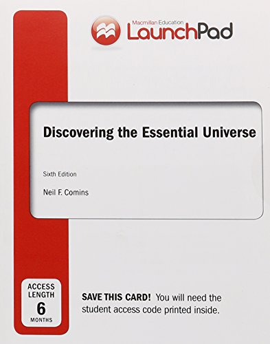 LaunchPad for Comins' Discovering the Essential Universe (Six Month Access)