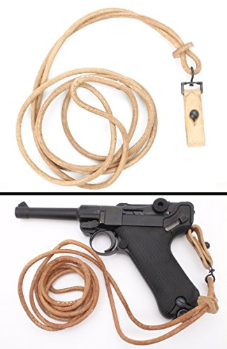(Ultimate Arms Gear WW2 German Army PISTOL LANYARD for P08 Luger Sling Strap Reproduction WWII 1942)