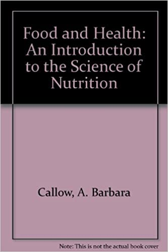 Book Food and Health: An Introduction to the Science of Nutrition