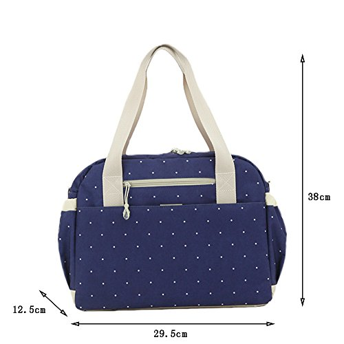 Global- 29,5 * 12,5 * 38 cm las mujeres embarazadas Saliendo mochila, Oxford tela de gran capacidad paquete de la momia, de la manera extraña de viaje esencial multifunción mochila ( Color : # 2 ) # 2