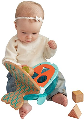 Fisher-Price Wooden Toys Hungry Humpback Shape Sorter