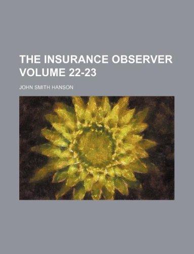 Download The Insurance observer Volume 22-23 Pdf