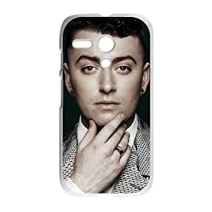 Motorola G Cell Phone Case White Sam Smith olgr
