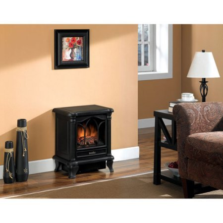 Duraflame Carleton Electric Stove with Heater, Black