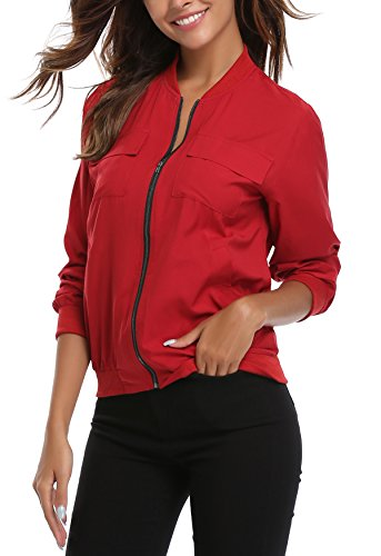 MISS Blouson MISS Femme Blouson MISS MOLY Femme Red Red MOLY qxwvE0SCp