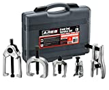 ARES 70840 | Front End Service Set | Allows for Easy Removal of Most Popular Types of Pitman Arms, Tie Rods and Ball Joints Storage Case Included