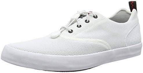 white deck shoes mens