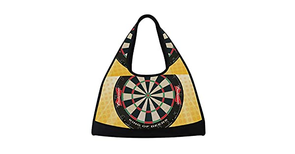 Amazon.com: LORVIES Dartboard Duffle Bag Shoulder Handy ...