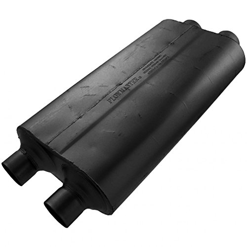 (Flowmaster 530504 50 Big Block Muffler - 3.00 Dual IN / 2.50 Dual OUT - Mild Sound)