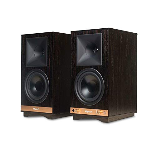 Klipsch The Sixes Powered Monitor - Ebony (Pair)