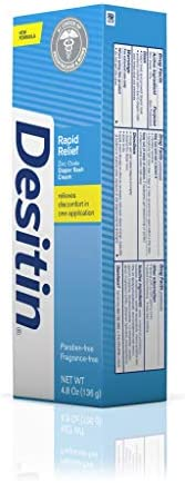41NXXjjvWlL. AC - Desitin Daily Defense Baby Diaper Rash Cream With Zinc Oxide To Treat, Relieve & Prevent Diaper Rash, Hypoallergenic, Dye-, Phthalate- & Paraben-Free, 4.8 Oz
