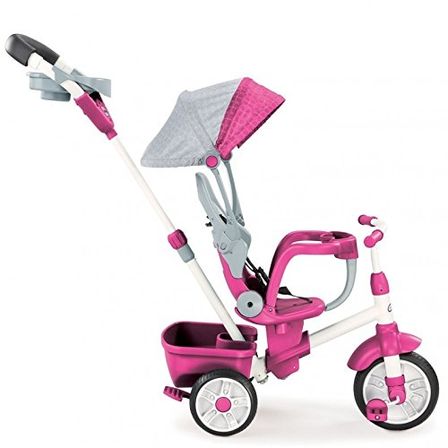Little Tikes Perfect Fit 4-in-1 Trike, Pink (Trike Bike)