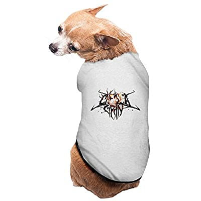 Gray Chelsea Grin American Deathcore Skin Deep Doggie Vest Puppy Coat