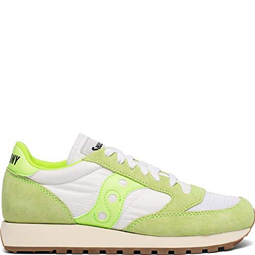 - Saucony Originals Women's JAZZ ORIGINAL Shoe, slime/white, 8.5 M US