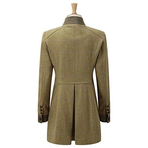 Caldene Damen-Tweedmantel Rosedene Military Salbeigrün 9uwO8A