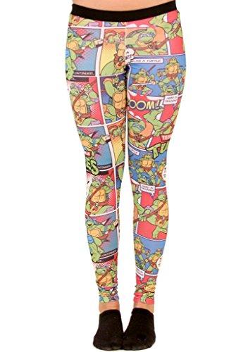 Teenage Mutant Ninja Turtles Bubblegum Leggings (X-Large)]()