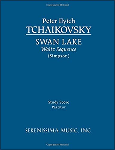 Swan Lake, Waltz Sequence: Study score