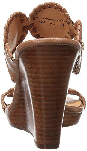 Cognac Sandal Women's Wedge Layne Rogers Jack Cognac FxYqZOIn
