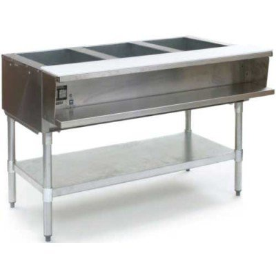 Eagle (AWT3-NG) 3-Well Gas Water Bath Steam Table